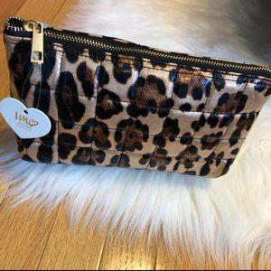 Imoshion Metallic Leopard Cosmetic Bag